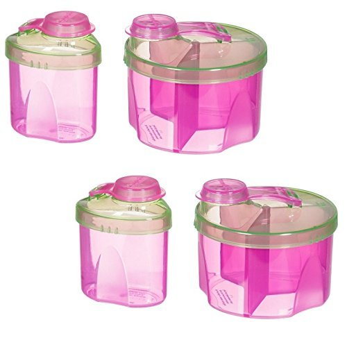 Munchkin Formula Dispenser Combo Pack, Pink - 2 Sets