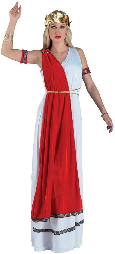 chiber - Disfraz Mujer Romana: Amazon.es: Juguetes y juegos