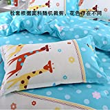 D&L Printting Comfortable Pillowcase,Polyester Bedding Bedroom Pillow Protector Breathable Hypoallergenic Durable 1pc-K 48x74cm(19x29inch)