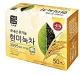 Cheap [Nokchawon] NEW USDA Certified Organic Brown Rice Green Tea 50 Tea Bags.