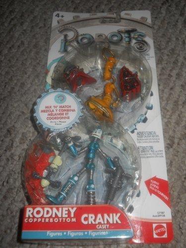 Robots (The Movie) Rodney Copperbottom and Crank Casey