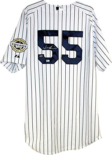 - Hideki Matsui New York Yankees Authentic Home Jersey w/Inaugural Season & 2009 WS Patches (Signed On the Back Number) (MLB Auth)