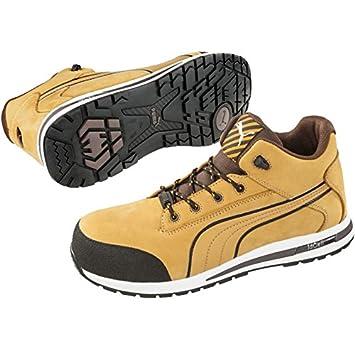 28ffb88b4fe Puma Mid Dash Wheat Safety Shoe S3 SRC HRO: Amazon.co.uk: DIY & Tools