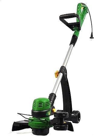 DRAKE18 Cortacésped eléctrico, desbrozadora, cortadora de césped eléctrica, giratoria, retráctil, silenciosa, energía de Ahorro de energía: Amazon.es: Hogar