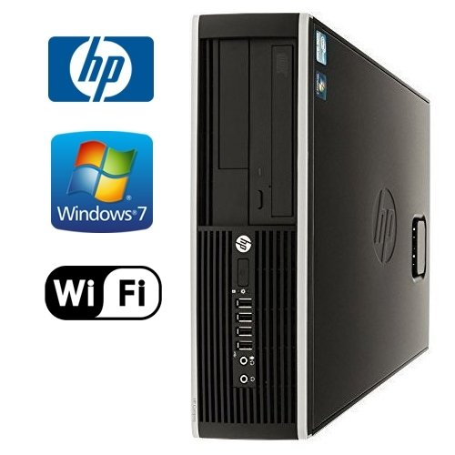 HP Compaq 8100 Elite SFF - Intel Quad Core i7 2.8GHz, 8GB DDR3, New 1TB HDD, Windows 7 Professional 64-Bit, WiFi, DVD-ROM (Prepared by ReCircuit) (Used Quad Core Desktop compare prices)