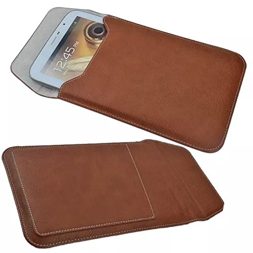 """ipad mini Sleeve,Kindle Pouch, Crazy Panda® Soft Leather Pouch 8"""" Tablets Sleeve Cover Carrying Case Pouch for ipad mini / Samsung Galaxy Tab 3 7.0 Tab 3 8.0/ GALAXY NOTE 8.0 and Other 7-8 INCH Tablets (new brown)"""