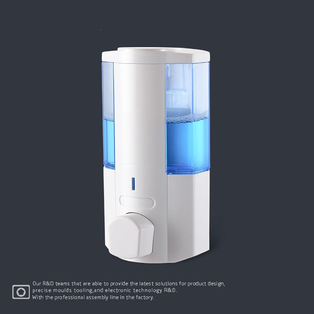 HOPORISE Dispensador de jab/ón autom/ático,,dispensador de desinfectante manos,base impermeable para cocina y ba/ño 250 ml//8.8oz con capacidad de dosificaci/ón de 2 niveles.