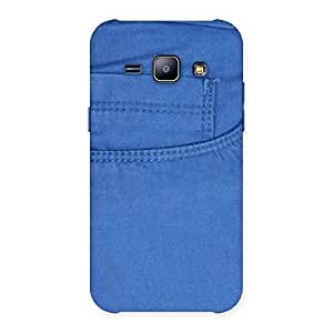 Special Blue Jeans Back Case Cover for Galaxy J1