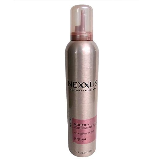 Nexxus Mousse Plus 10.6 Ounce Volumizing Foam Light Hold (313ml) (2 Pack)