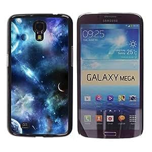 Be Good Phone Accessory // Dura Cáscara cubierta Protectora Caso Carcasa Funda de Protección para Samsung Galaxy Mega 6.3 I9200 SGH-i527 // Planets Fantasy Sky Science Fiction Cosmos