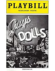 "Lauren Graham (Cast Signed)""GUYS & DOLLS"" Craig Bierko/Oliver Platt/Kate Jennings Grant 2009 Broadway Playbill"