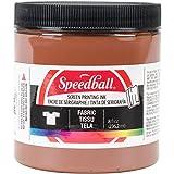 Speedball Fabric Screen Printing Ink 8oz, Brown