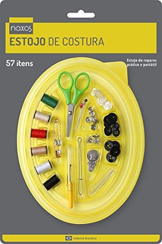 Estojo de Costura Naxos Estojo de Costura Multicor Plastico, linha