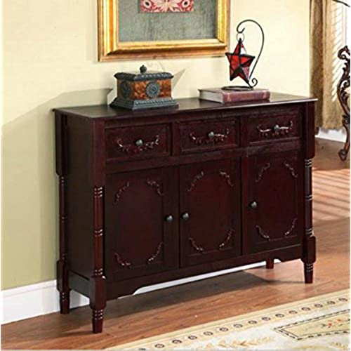 Genial ... Accent Furniture Has 2 Cabinets And 3 Drawers W/ Adjustable Shelves    Perfect Decor That Can Be Placed In Your Dining Or Living Room   1 Year  Warranty!