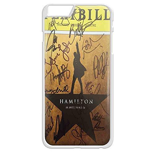 Playbill Hamilton Signatures iPhone case and samsung galaxy case (iPhone 6 Plus White)