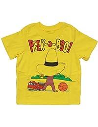 Peek-A-Boo Flap Yellow Toddler T-Shirt - 2T