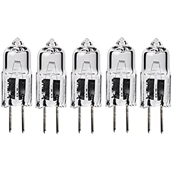 5pack - LSE Lighting G4 12V 10W Halogen Bulb JC Bi-Pin Light 10 watt 12 Volt