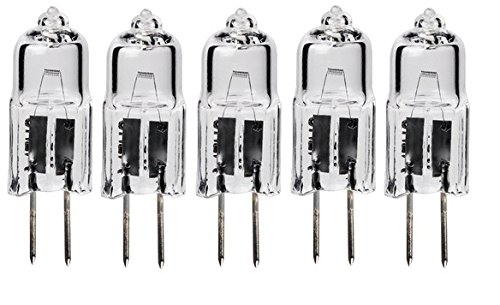 5pack - LSE Lighting G4 12V 10W Halogen Bulb JC Bi-Pin Light 10 watt 12 volt