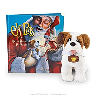 The Elf on the Shelf Pets: A Saint Bernard Tradition: Toys & Games