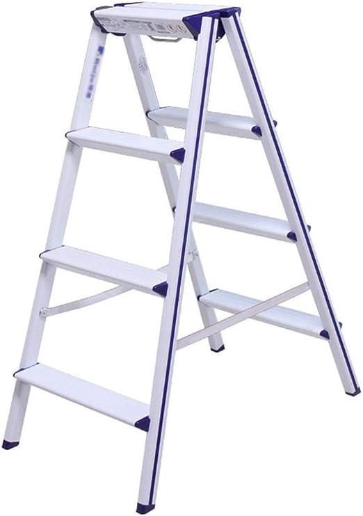 Taburete Plegable Escalera 4 Peldaños, Escalera Plegable De ...