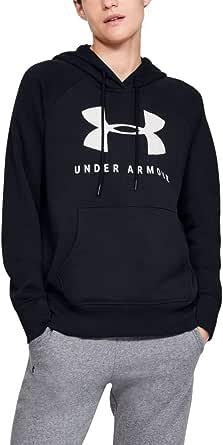 Under Armour Women's Rival Fleece Sportstyle Graphic Hoodie Hoodie