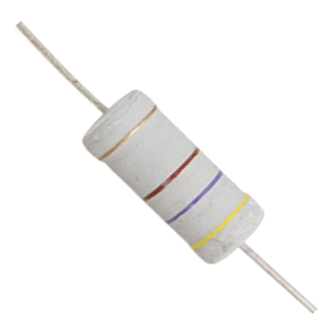 ACAMPTAR 10 x 5W 700V 470 ohm Resistances a film doxyde metallique 470R