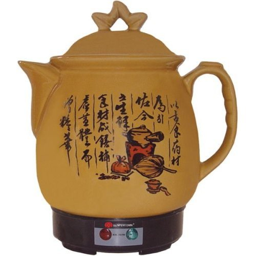 Herbal Steamer - Sunpentown SS-0340 3-2/5-Liter Chinese Herbal Medicine Cooker with Stainless Heater