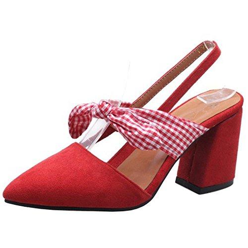 Zanpa Donna Scarpe Red Estive Sandali rr8zxwFS