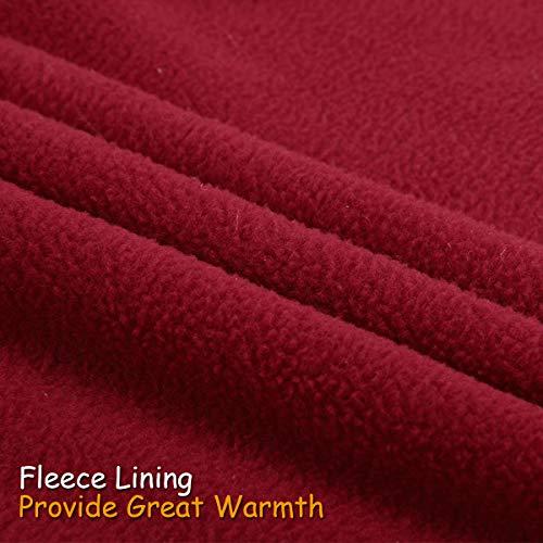 los Winter para Coat Pet Perros Dog 3XL XS de mayoría Rojo 6 TFENG Fleece la Colores Jacket xqIYvt