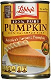 Libby's, 100% Pure Pumpkin, 15oz Can (Pack of 6)