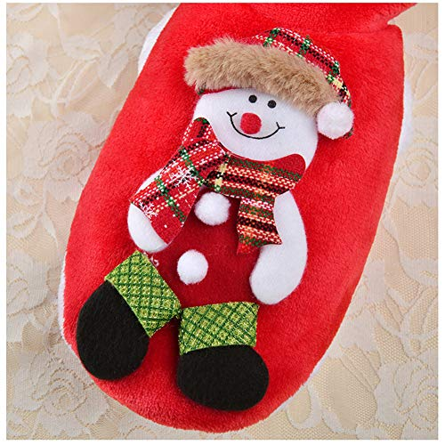 DragonPad Christmas Pet Clothes Costume Dog Cat Warm Coat for Cat and Small Dog, Snowman XS