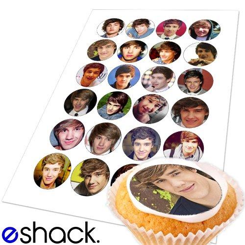 Cakeshop 24 x Liam Payne 1 Direction Edible