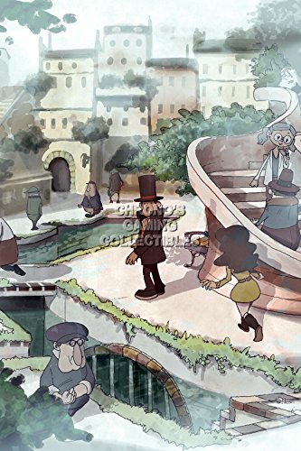 CGC Huge Poster - Professor Layton and the Last Specter Nintendo DS - OTH078 (24