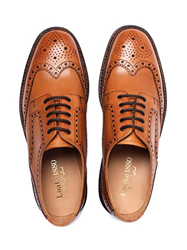 Loake Mens Chester Oxford Shoes Tan wPoerf