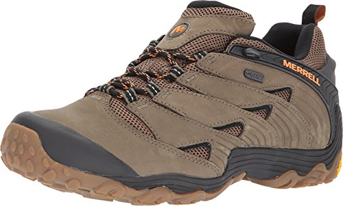 Merrell Men's Chameleon 7 Waterproof Hiking Shoe, Dusty Olive, 10.0 M US (Shoes Stretch Hiking)