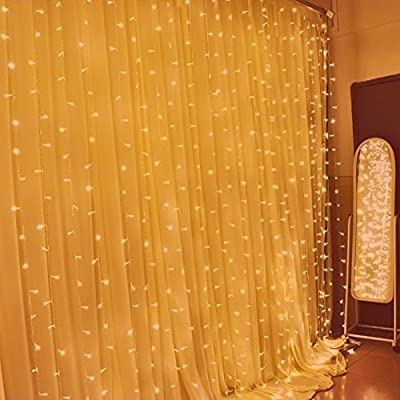 LEAF Led Curtain Light 300led 9.8ft
