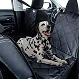 Dog Car Seat Cover Hammock Style and Cargo Liner for STANDARD SIZE Cars and SUV's .The Original Design You Can See Your Pet & Your Pet Sees You with The Clearview Window-Keeps Your Pet Calm (Regular)