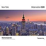 Bilderwelten New York 2019: Wochenkalender mit 53 Grusskarten