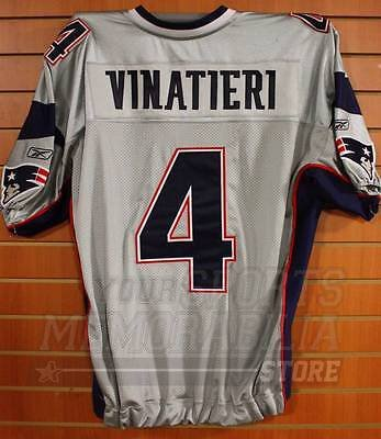 new concept 036e8 5caa7 Adam Vinatieri New England Patriots Game Cut Authentic ...