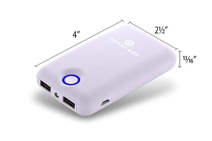 Amazon.com: Second Kick - Cargador portátil compacto y ...
