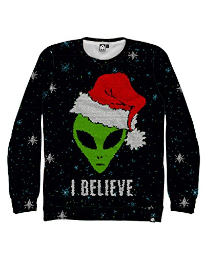 I Believe Alien Christmas Sweatshirt