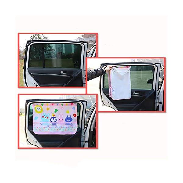 Acptxvh Copertura Parasole Auto Universale di Copertura dello Schermo di Sun UV Protect Telo Laterale Finestra per Il… 3 spesavip