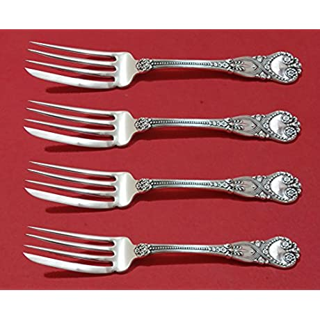Saint James By Tiffany And Co Sterling Silver Fish Fork Set 4pc Custom 6 7 8