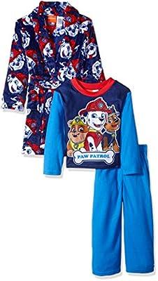 Nickelodeon Boys' Paw Patrol 2-Piece Pajama Set with Robe