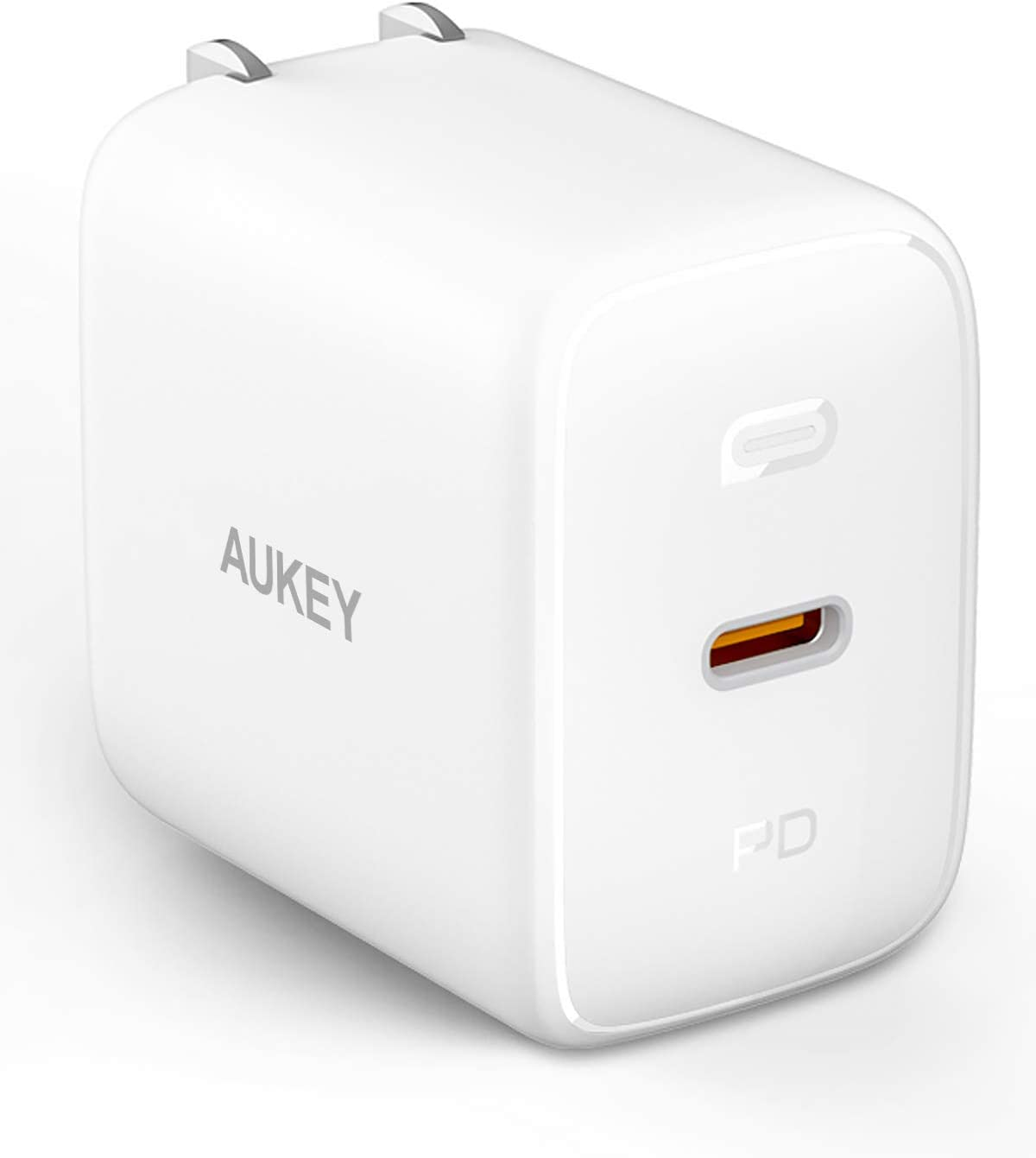 USB C Charger, AUKEY Omnia 61W PD Charger with GaNFast Technology, MacBook Pro Charger USB C Wall Charger Power Delivery Laptop Charger for MacBook Pro/air, iPhone 11 Pro, Dell XPS 13