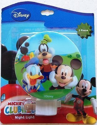 Disney Mickey Mouse & Friends Night Light (assorted styles)]()
