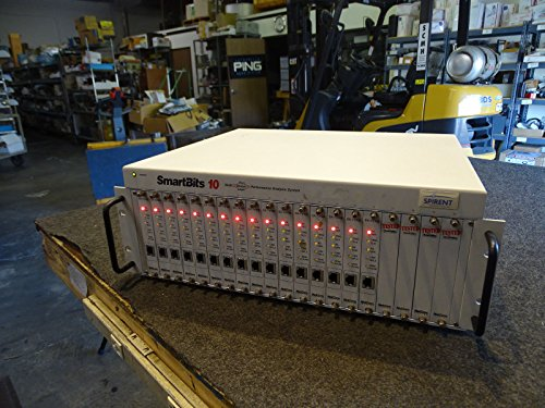 Spirent SmartBits SMB-10 Network Analyzer w/ 16X SX-7410B Cards