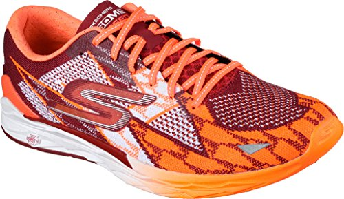 Skechers Go Meb Speed Laufschuhe - AW17 rot/orange (red/orange)