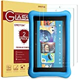 [2 Pack] 2017 All-New Fire HD 8/Fire HD 8 Kids Edition Screen Protector - OMOTON Tempered Glass Screen Protector for All New Fire HD 8 and Kids Edition (2017 Release)