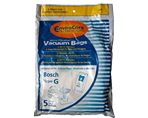 upc 836301002067 product image for Bosch Allergy TYPE G Canister Vacuum Bags | barcodespider.com